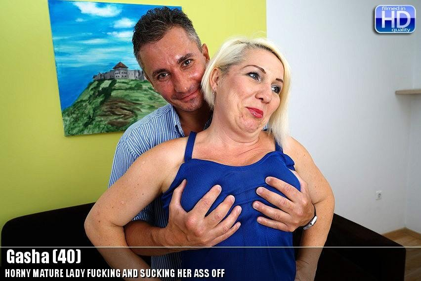 Mature.nl - Gasha (40) - Mat Alex 184 [HD 720p / Mature / Blonde / 2015]
