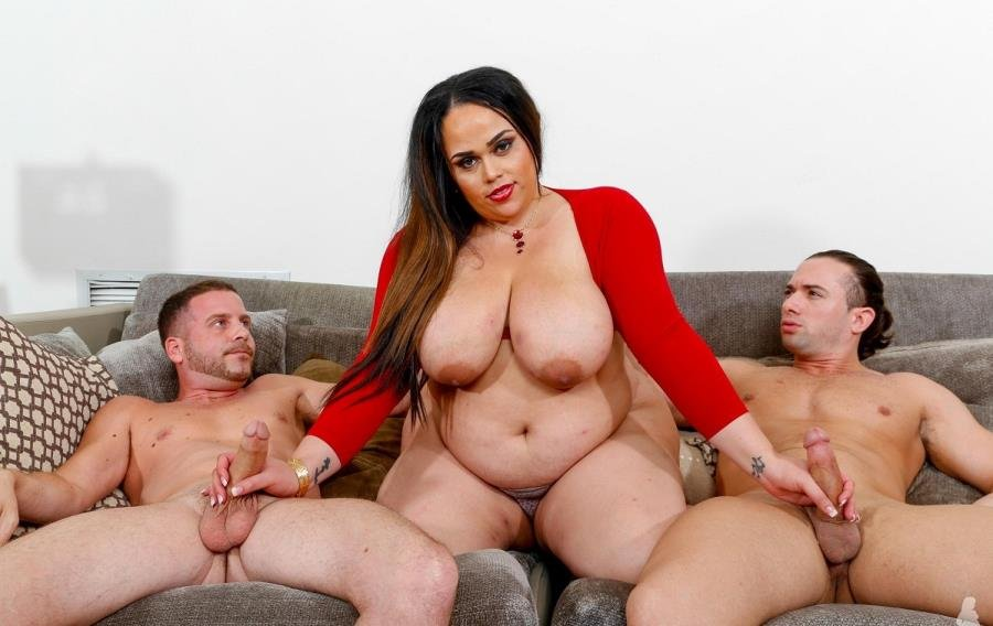 PlumperPass.com - Christy Live - Fight Night [HD 720p / BBW / Mature / 2015]