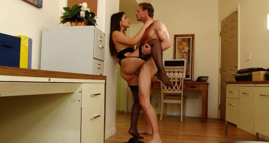 NaughtyOffice.com - Valentina Nappi - Sex with his mistress [HD 720p / USA / Hardcore / 2015]