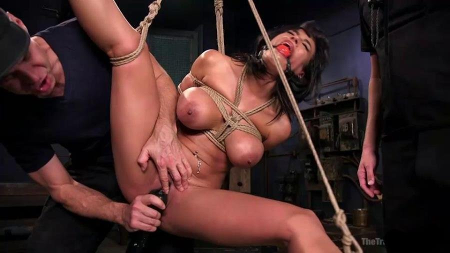 Thetrainingofo.com - Luna Star, James Mogul, Mark Wood - Hot Latina Slave for a Day [SiteRip / BDSM / USA / 2015]
