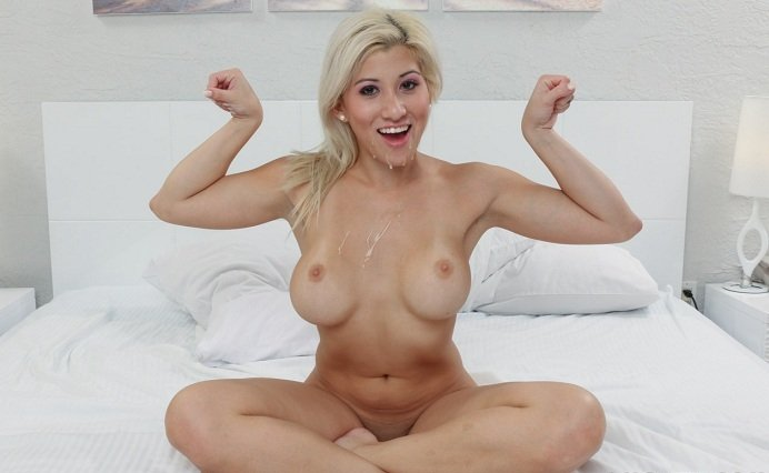TeamSkeet.com - Cristi Ann - Private Workout Lesson [HD 720p / Hardcore / Blonde / 2015]
