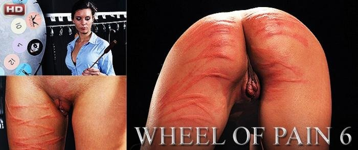 ElitePain.com - Djess - Wheel of Pain 6  [HD 720p / Spanking / 2015]