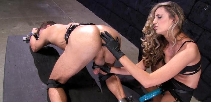 FemdomEmpire.com - Allie Eve Knox - Impaled by Cock [FullHD 1080p / Femdom / Strap-on / 2015]