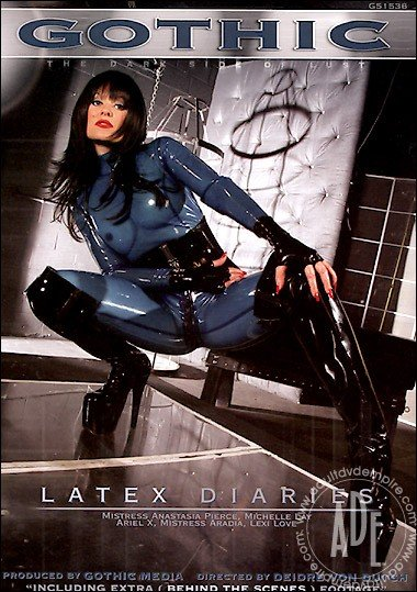 Gothic.com - Lexi Love, Michelle Lay, Anastasia Pierce, Ariel X, Mistress Aradia - Latex Diaries [DVDRip / Latex / 2006]