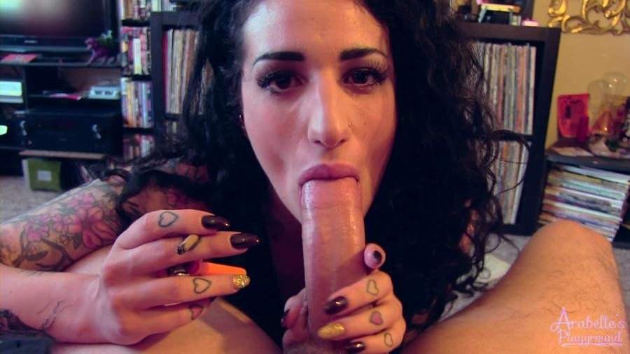 Clips4sale.com - Arabelle Raphael - Cum Over And Hang Out, I Want To Suck Your Cock [FullHD 1080p / Smoking / Blowjob / 2015]