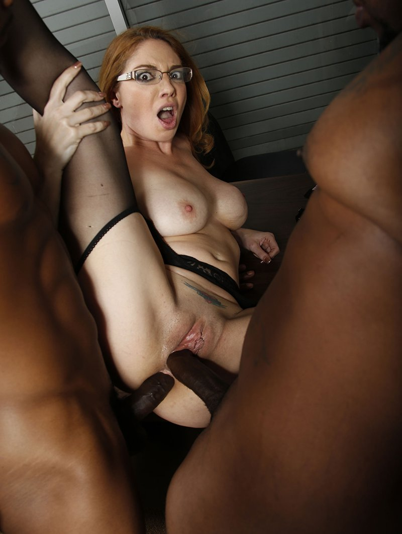 BlacksOnCougars.com/DogfartNetwork.com - Kiki Daire - Blacks On Cougars [HD / MILF / Interracial / DP / 2015]
