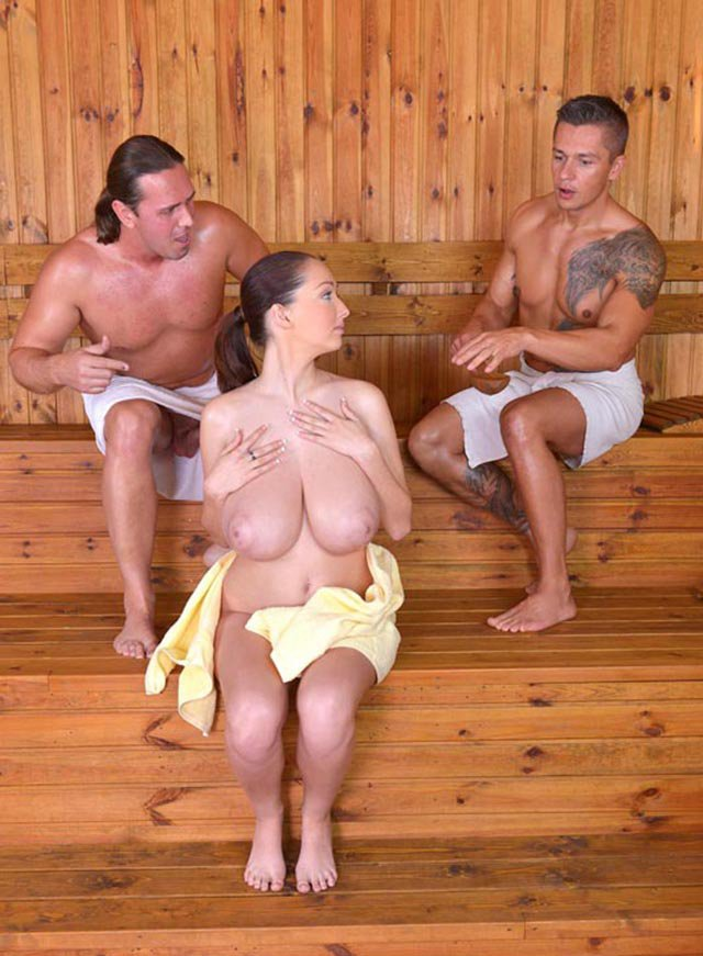 DDFBusty.com/DDFNetwork.com - Lucie Wilde - Lucies Sauna Cum Bath [SD / All sex / Big tits / 2015]