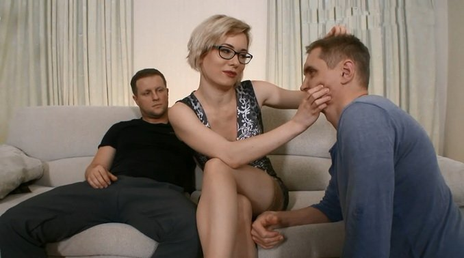 Submissivecuckolds.com - Mistress Dayana - Wife With Glasses Fuck In Ass [FullHD / Femdom / Cuckold / 2016]