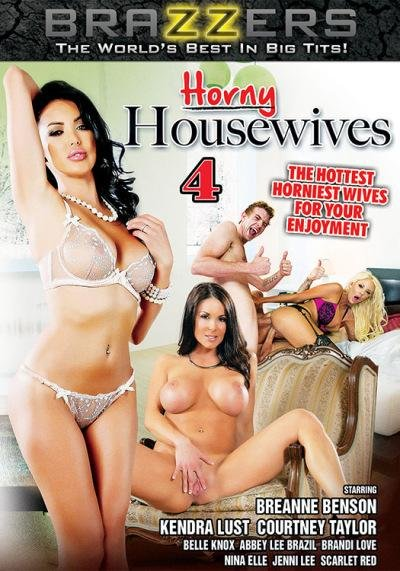 Brazzers - Abby Lee Brazil, Belle Knox, Brandi Love, Breanne Benson - Horny Housewives 4 [WEBRip/SD  / All Sex / Big Boobs / 2016]