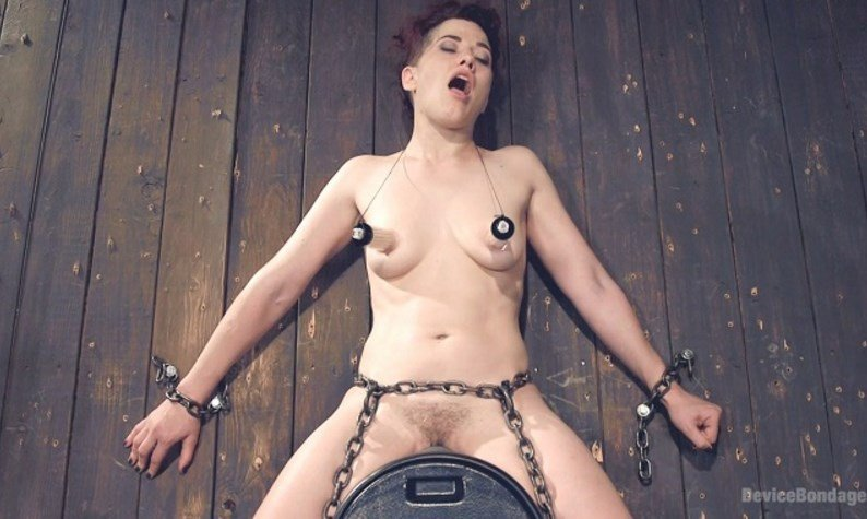 DeviceBondage.com - Ingrid Mouth - Two on One [SiteRip / BDSM / Humilation / 2016]