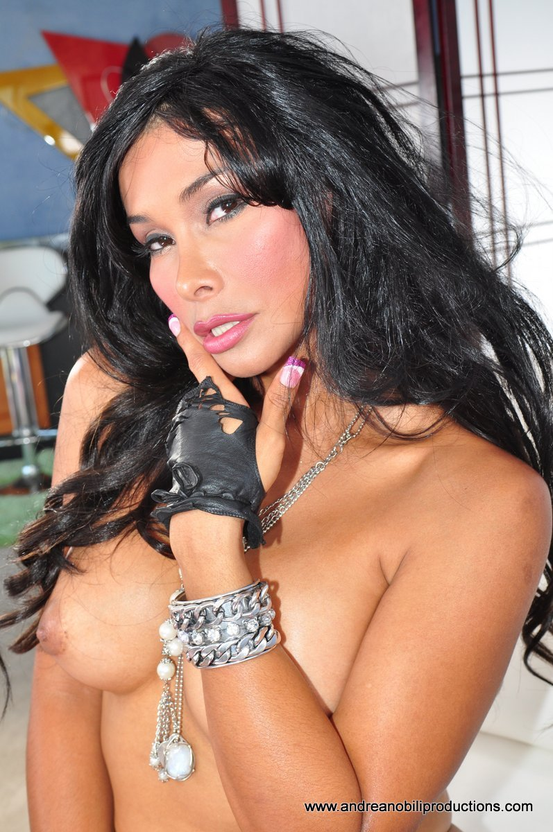 AndreaNobiliProductions.com - Vaniity - Vaniity Transsexual Star [SD  / Transsexual / Masturbation / 2010]