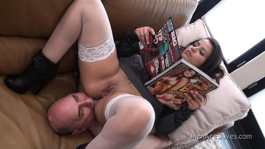 MenAreSlaves.com - Pepper Foxxx - Devoted to her ass [FullHD 1080p / Femdom / Facesitting / 2011]