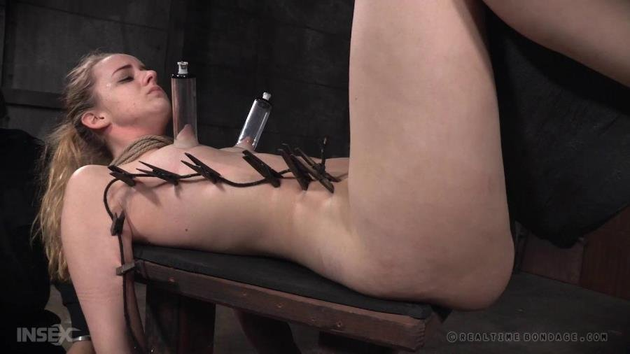 RealTimeBondage.com - Jessica Kay - Ho, Ho, Whore Part 3 / 16.01.2016 [HD 720p / BDSM / Torture / 2016]