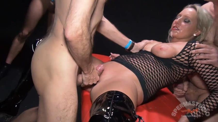 Sperma-Studio.com - Natalie - GB Natalie creampie black dressed in black studio [HD 720p / Bukkake / Amateur / 2014]