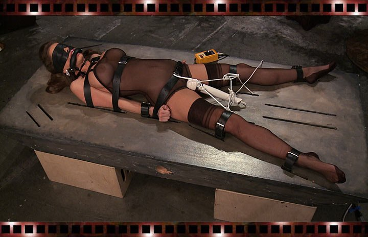 BondageCafe.com - Emily Addison - Slab City [HD 720p / Bondage / Latex / 2013]