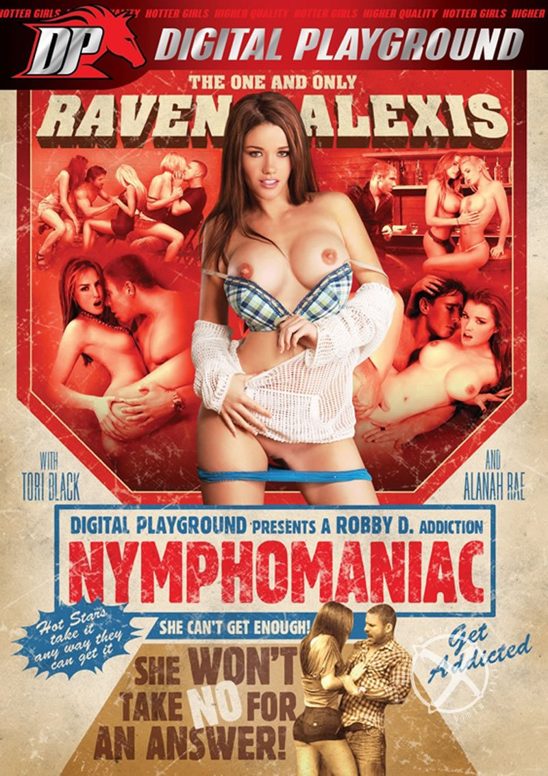 Digital Playground - Raven Alexis, Tori Black, Alanah Rae, Phoenix Marie - Nymphomaniac [WEBRip/HD 1080p / All Sex / Feature / 2010]