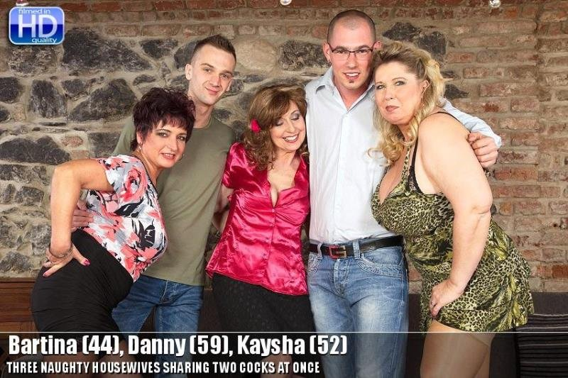 Mature.nl - Bartina, Danny, Kaysha - mat-profgroup008 [HD / MILF / Group Sex / 2015]