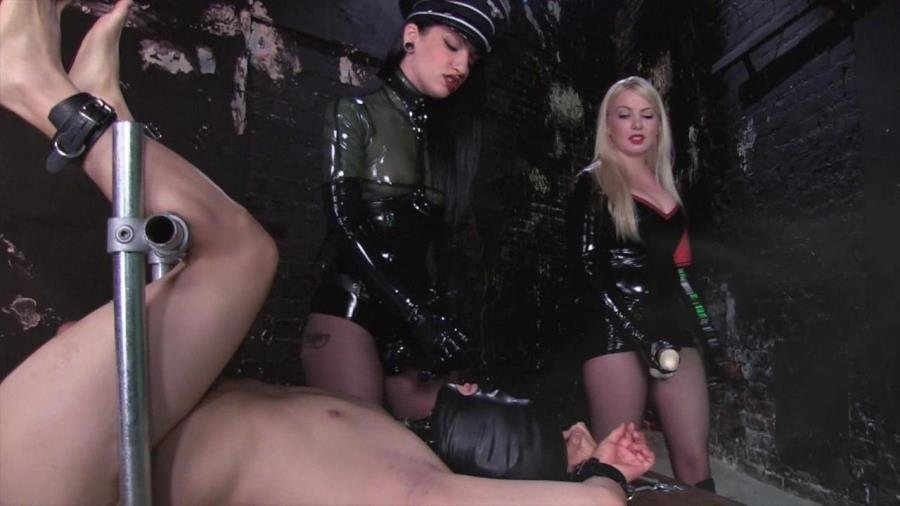 FemdomEmpire.com - Lexi Sindel and Cybill Troy - She Wolves of the Strapon [HD 720p / Femdom / Latex / StrapOn / 2013]