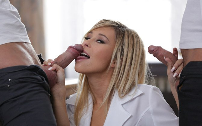 Dorcel.com - Lola Reve - Anissa and Lola at Nursing School [HD / Anal / Teen / 2014]