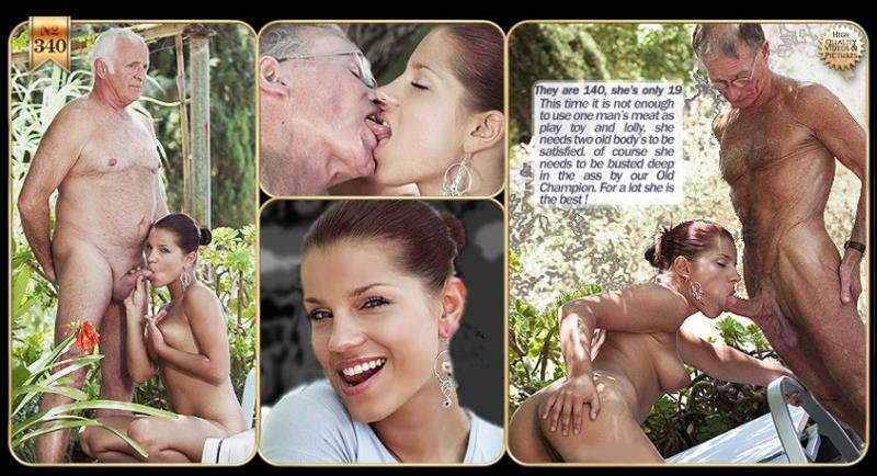 Oldje.com - Angel Rivas - Who Fucks my Girlfriend [HD / Old Man / Anal / 2013]