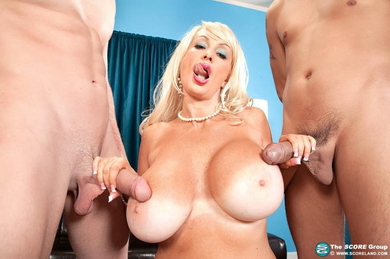 PornMegaLoad.com - Brittany O Neil - Threes Not A Crowd [FullHD 1080p / Big Tits / Milf / 2014]