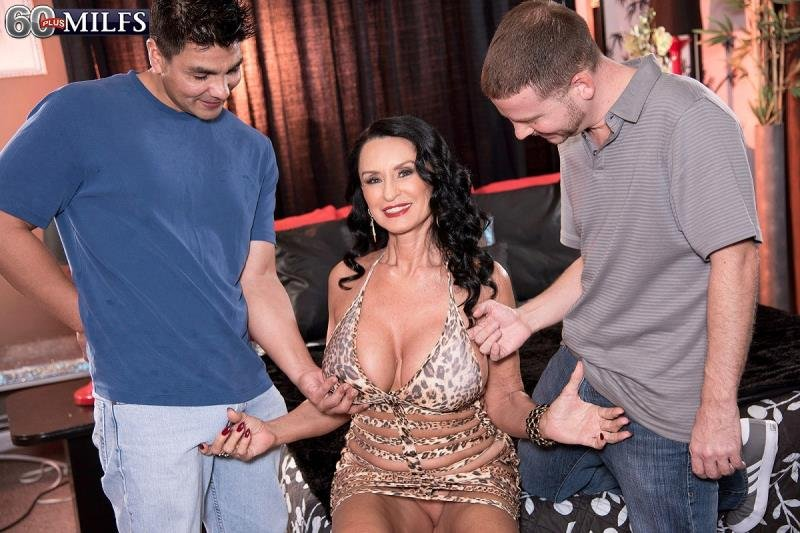 60PlusMilfs.com - Rita Daniels - Its beginning to look a lot like a DP [FullHD 1080p / Milf / Anal / 2014]