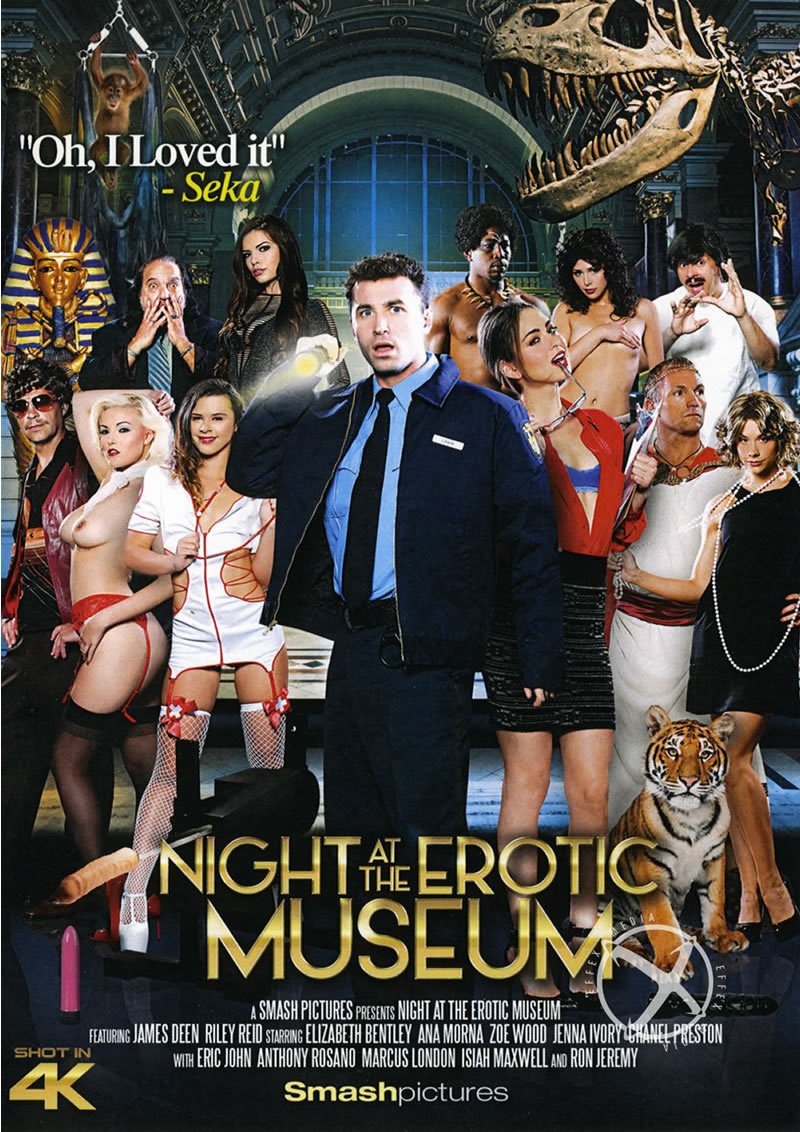 Smash Pictures - Riley Reid, Chanel Preston, Jenna Ivory, Anna Morna, Zoe Wood - Night At The Erotic Museum [WEBRip/FullHD 1080p / Feature, Big Budget, Cosplay, Parody / 2015]