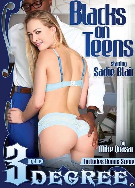 3rd Degree Films - Melissa May, Sadie Blair, Sean Michaels - Blacks On Teens [WEBRip/FullHD 1080p / Teens / All Sex / 2016]