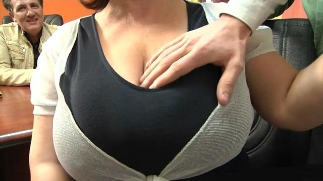tits French milf big