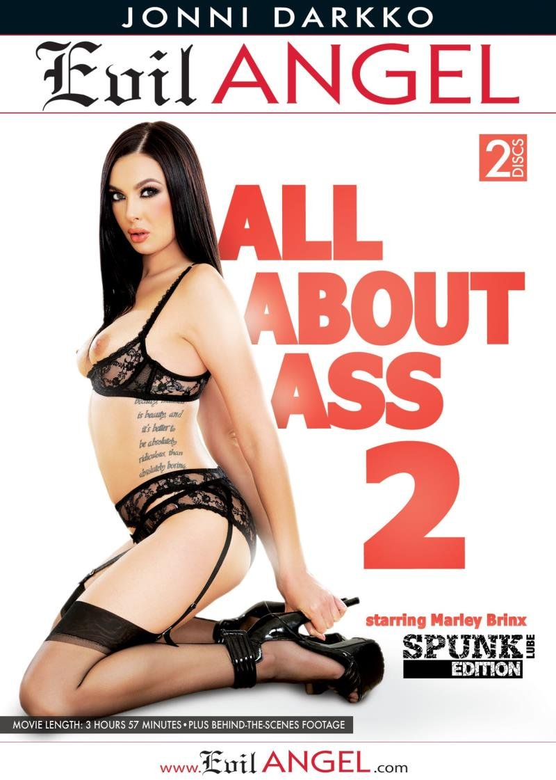 Evil Angel - Marley Brinx, Mercedes Carrera, Cassidy Klein - All About Ass 2 [WEBRip/SD 540p / Gonzo / Anal / All Sex / 2016]