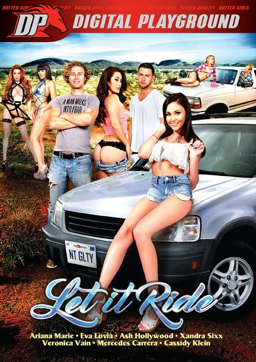 Digital Playground - Ariana Marie, Ash Hollywood, Cassidy Klein, Danny Mountain - Let It Ride [WEBRip/SD  / Feature / Group / All Sex / 2016]