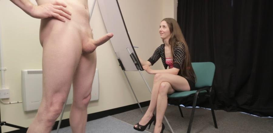 AmateurCFNM.com - Leyla - Art Student Facial [FullHD 1080p / Amateur / Blowjob / 2015]