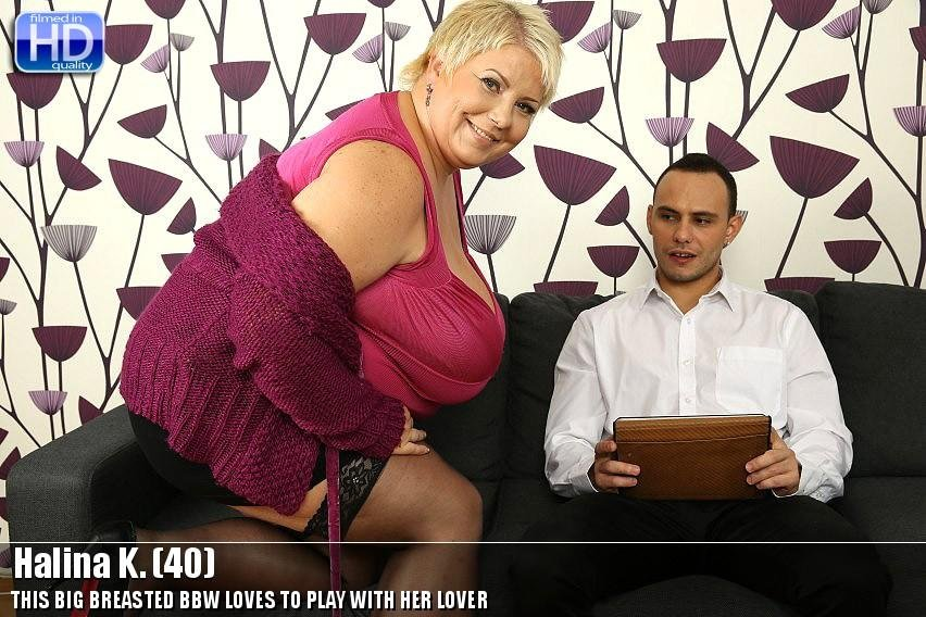 Mature.nl - Halina K. - Mat-oldies136 [HD 720p / Mature / Big Tits / 2014]