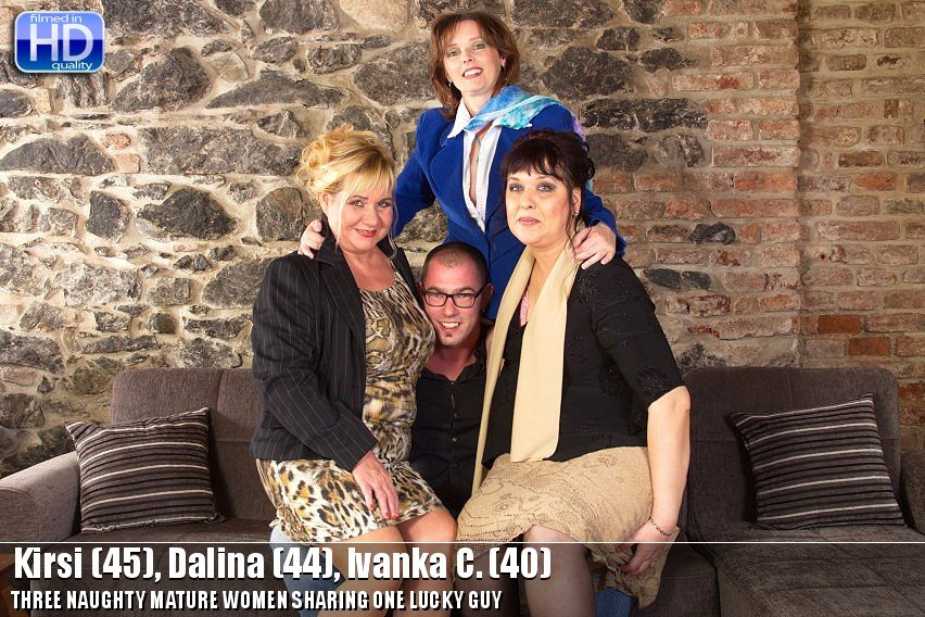 Mature.nl - Kirsi (45), Dalina (44), Ivanka C. (40) - Mat-prof group003 [HD 720p / Mature / Group / 2014]