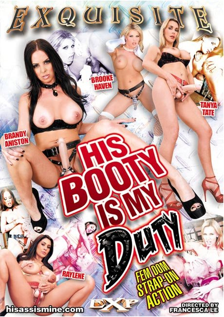 Exquisite Pleasures - Brandy Aniston, Raylene, Tanya Tate, Brooke Haven - His Booty is My Duty [DVDRip  / Strap-On / Fetish / 2013]