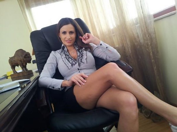SensualJane.com - Sensual Jane - Dirty Secretary [SD / Big Natural Tits / Hardcore / 2013]