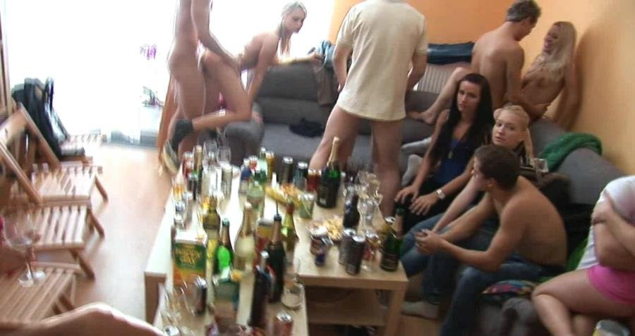 CzechHomeOrgy.com - Swingers - Czech Home Orgy 5 - Part 2 [HD 720p / Amateurs / Orgy / 2015]