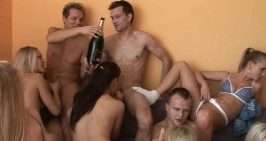 CzechHomeOrgy.com - Swingers - Czech Home Orgy 5 - Part 3 [HD 720p / Group Sex / Orgy / 2015]