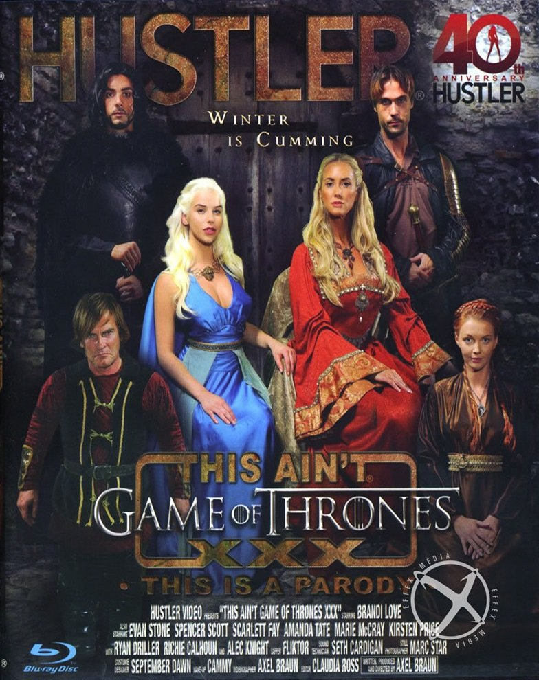 Hustler Video - Brandi Love, Evan Stone, Spencer Scott, Scarlett Fay, Amanda Tate - This Aint Game Of Thrones: This Is A Parody [WEBRip/SD  / Feature, Spoofs, Parodies, Cosplay, All Sex / 2014]