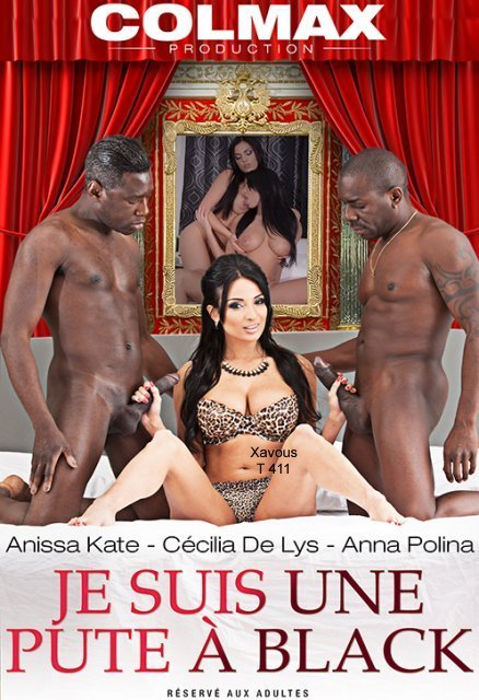 Colmax - Anissa Kate, Anna Polina, Cecilia De Lys, Sensi, Joss Lescaf, Eddy Blackone - Je Suis Une Pute A Black [WEBRip/SD 480p / All Sex / Group / Interracial / 2016]