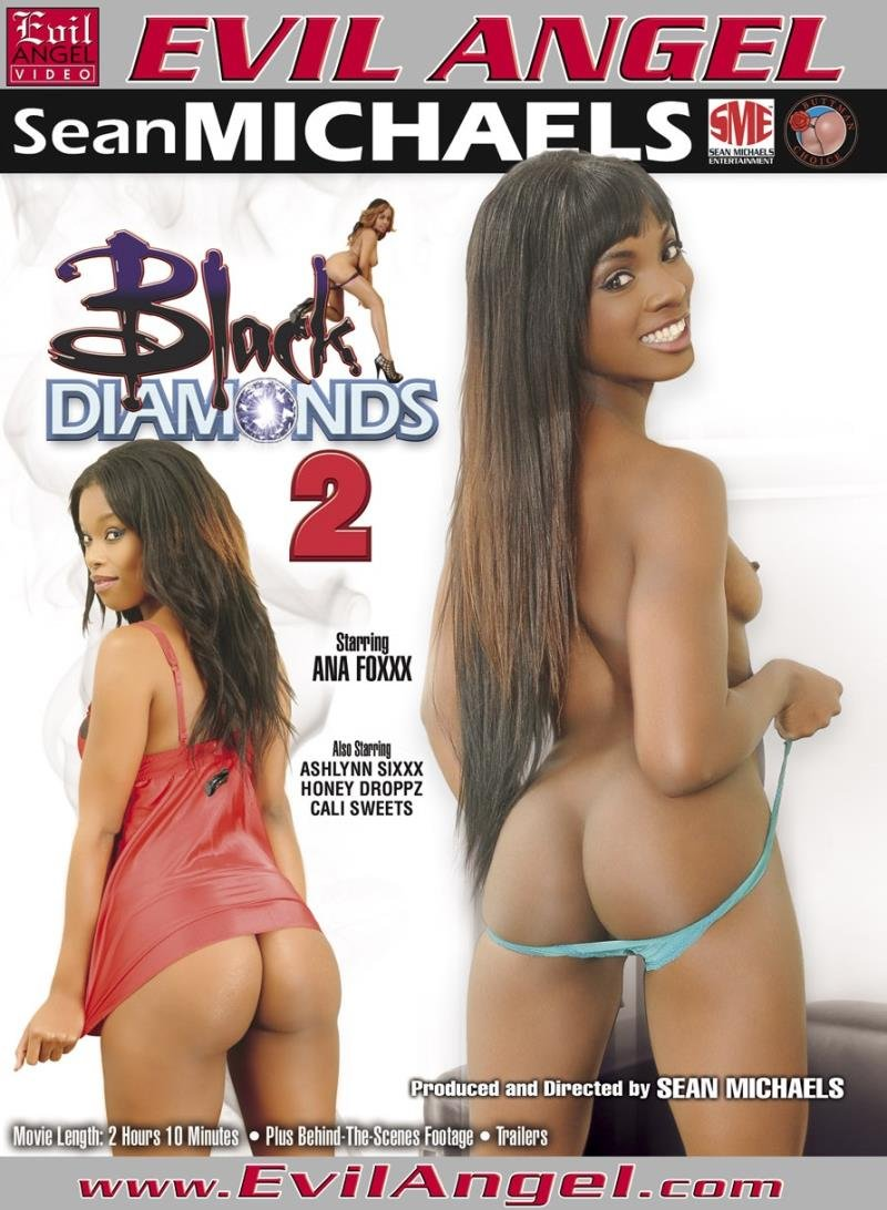 Evil Angel - Ana Foxxx, Ashlynn Sixxx, Cali Sweet, Honey Dropz - Black Diamonds 2 [WEBRip/SD 540p / All Sex / Gonzo / Black / 2013]