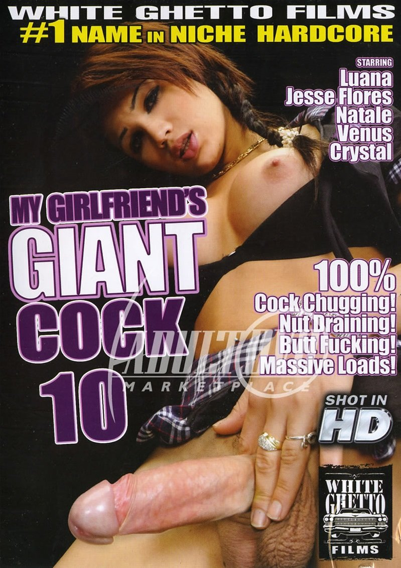 White Ghetto - Venus, Jesse Flores, Natalee, Luana, Crystal - Girlfriends Giant Cock 10 [DVDRip 480p / Transsexual / Anal / 2013]