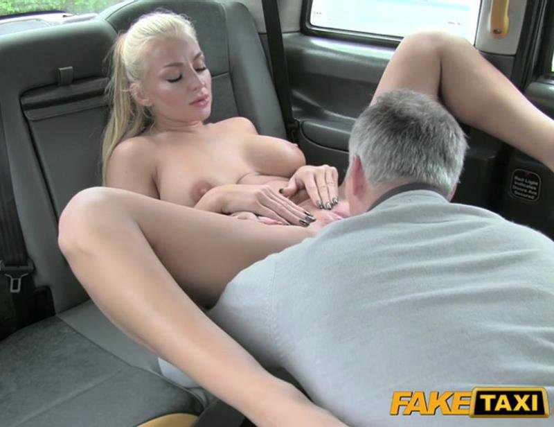 FakeTaxi.com/FakeHub.com - Kayla Green - Hungarian beauty in hot cab sex [SD / Sex in Car / Hardcore / 2015]