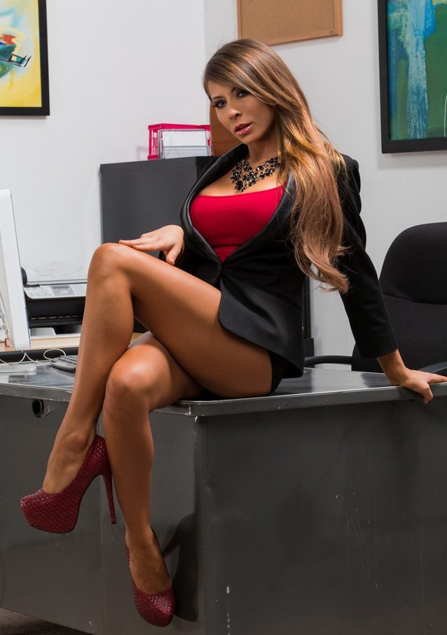 NaughtyOffice.com/NaughtyAmerica.com - Madison Ivy - Naughty Office [HD / Big Dick / Big Tits / 2012]