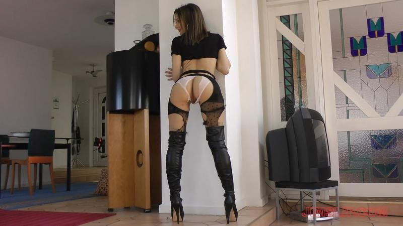 JimSlip.com - Valentina Bianco - From Saint To Slut! [HD / Pantyhose / High Boots / 2016]