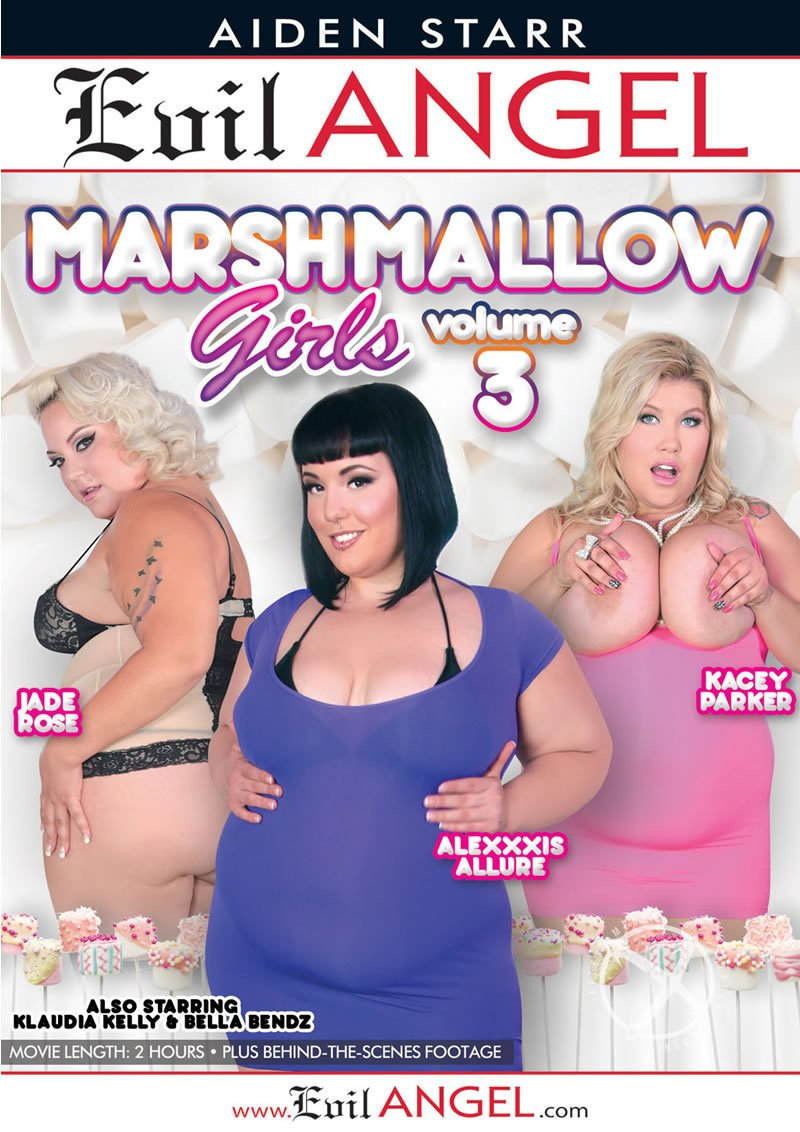 Evil Angel - Alexxxis Allure, Bella Bendz, Jade Rose, Kacey Parker, Klaudia Kelly - Marshmallow Girls 3 [WEBRip/SD 540p / BBW / Gonzo / All Sex / 2015]