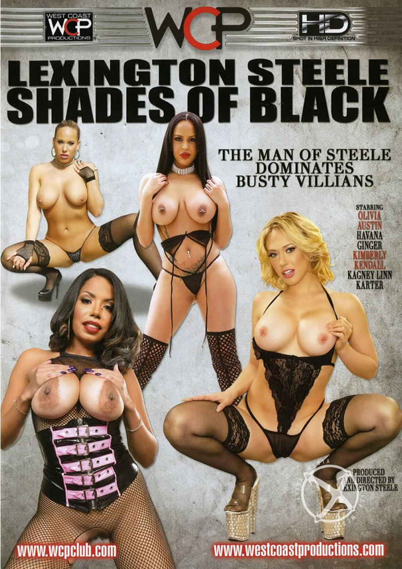 West Coast Productions - Kagney Linn Karter, Olivia Austin, Havana Ginger - Lexington Steele: Shades Of Black [WEBRip/SD 400p / Big Cocks / Interracial / 2016]