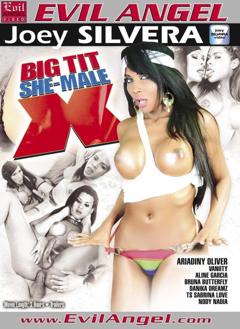Evil Angel - Alex Victor, Aline G., Ariadny Oliver, Bruna Butterfly - Big Tit She-Male X [WEBRip/SD 540p / Anal / Transsexual / 2012]