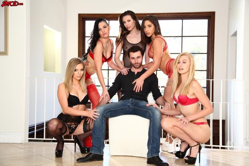 Zero Tolerance - Casey Calvert, Rachael Madori, Adella Danger, Alexa Grace - King James 2 [WEBRip/HD 720p / All Sex / Gangbang / 2016]