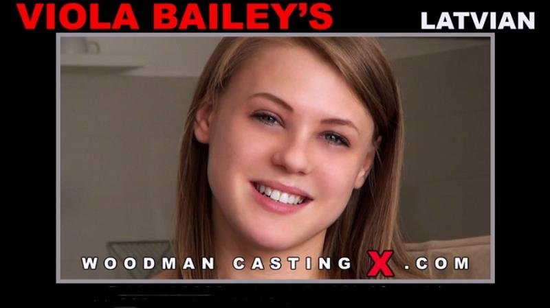 WoodmanCastingX.com/PierreWoodman.com - Viola Bailey - Hard - Sofa + 1 Boy [SD / Swallow / Big Tits / 2015]
